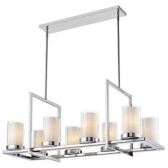Lampa wisząca Miami Silver 8L 99x40x43cm Cosmo Light