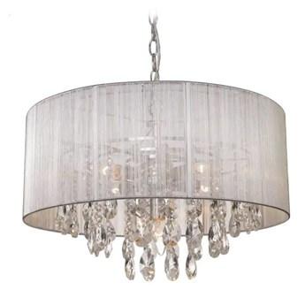 Lampa wisząca srebrna Singapore Silver 50x126cm Cosmo Light