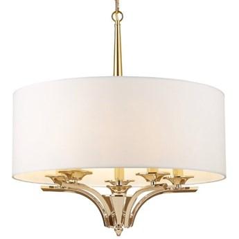 Lampa wisząca Atlanta Gold White 60x65cm Cosmo Light