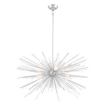 Nowoczesna lampa wisząca do salonu w stylu nowojorskim STRATOS