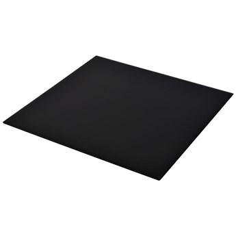 VidaXL Blat stołu szklany, kwadratowy, 700 x 700 mm