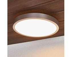 Liyan - srebrna lampa sufitowa LED do łazienki