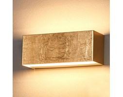 Złota lampa ścienna LED Quentin, 23 cm