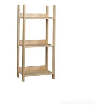 Regał EKO niski sosnowy 3-półki