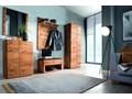 Lustro wąskie w dębowej ramie Orio Soolido Meble Ścienne Pomieszczenie Garderoba Pomieszczenie Przedpokój