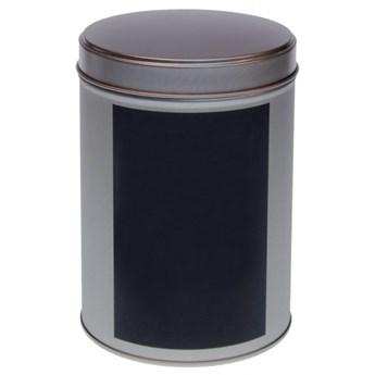 Puszka na herbatę 200g Eigenart okrągła tablicowa srebrna kod: 3045911