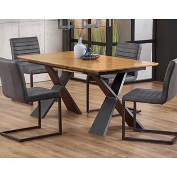 Industrialny stół z podstawą w kształcie litery X Chandler
