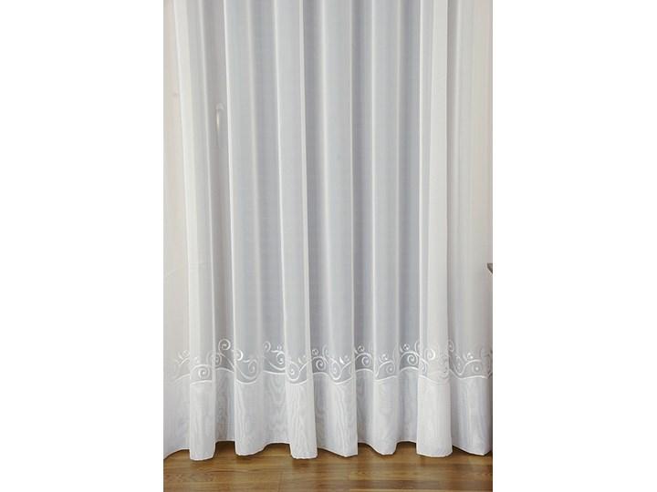 Firanka Kornelia Haftowana 43943 Wysokość 270cm Kolor Biały