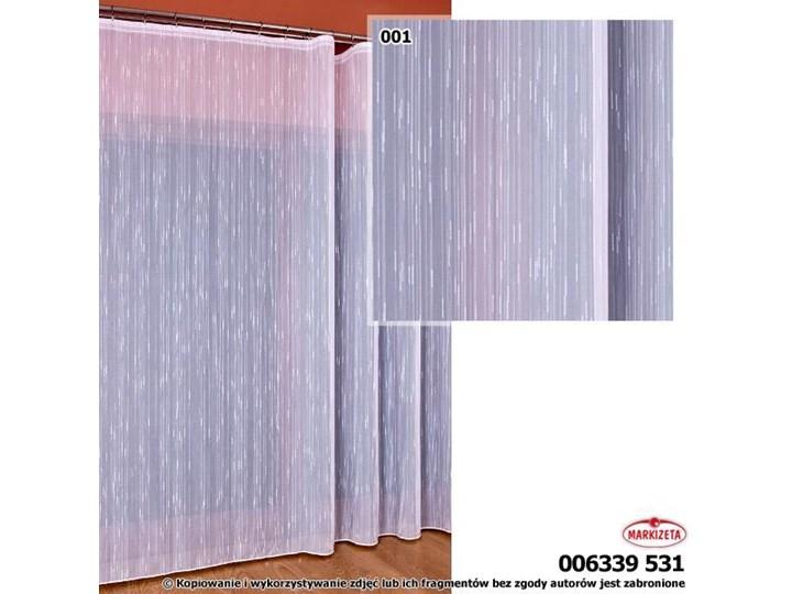 Woal Deszczyk Biały 6339 Z Obciążnikiem Wys300cm