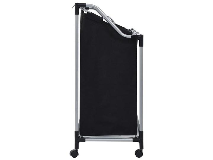 Sortownik na pranie Trinny 2X - czarny Tkanina Metal Kategoria