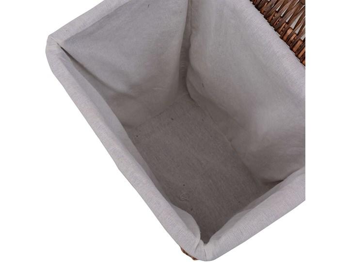 Kosz wiklinowy na pranie Riten - brąz Wiklina Kategoria