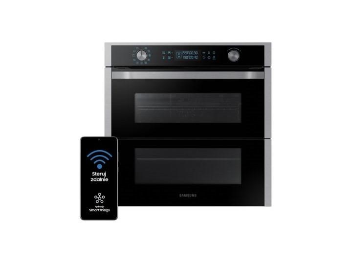 Piekarnik SAMSUNG NV75N7647RS Dual Cook Flex Elektryczny Czarno-srebrny A+ Elektryczne Kategoria Piekarniki Kolor Czarny