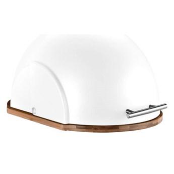 Chlebak kuchenny Helmet biały kod: 40W-CHL-WE-BB35/W