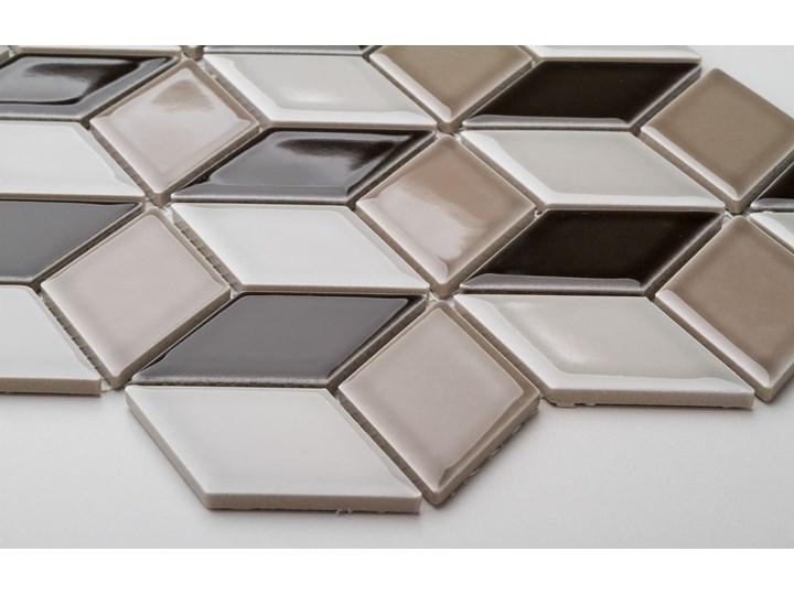 Płytka Diamond Art Deco Szkliwiony Romb Płytki ścienne Mozaika Płytki podłogowe Gres Wzór Geometryczny
