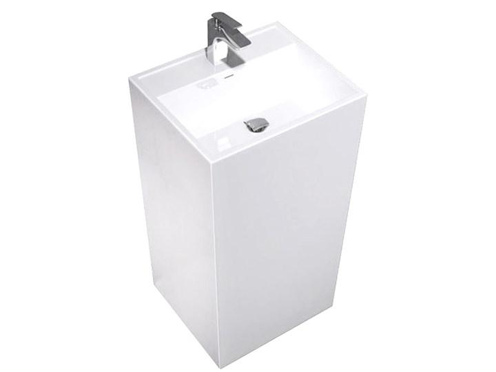 VELDMAN MONOLITYCZNA UMYWALKA IVO Kategoria Umywalki Prostokątne Wolnostojące Konglomerat Kolor Biały