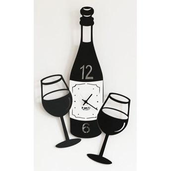 Zegar ścienny CIN CIN, czarny - Arti&Mestieri