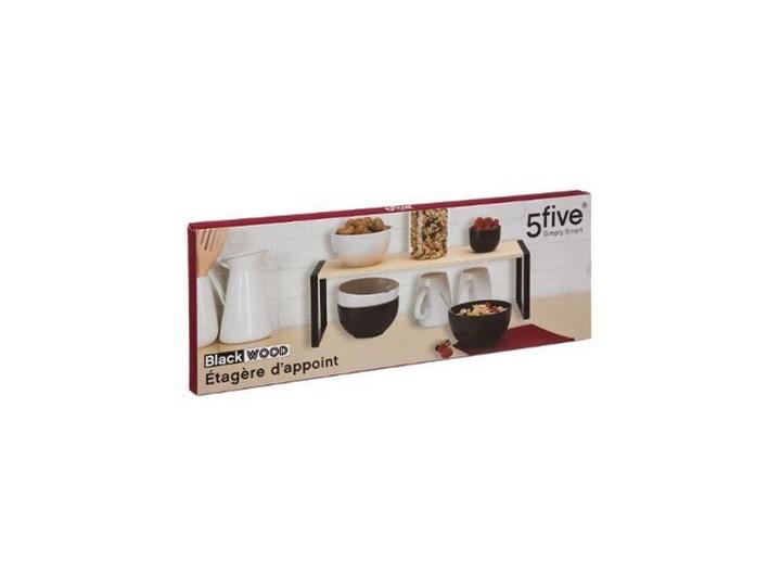 Półka kuchenna na blat, 50 x 18 x 15 cm Metal Drewno Kategoria Półki kuchenne