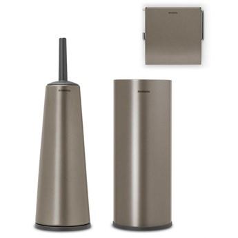 BRABANTIA - ReNew - Zestaw akcesoriów toaletowych - Platynowy kod: 28 06 41