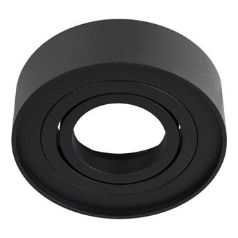 Punktowa oprawa sufitowa wpuszczana SKAND 1 MINI Black IP20 okrągła czarna EDO777127 EDO
