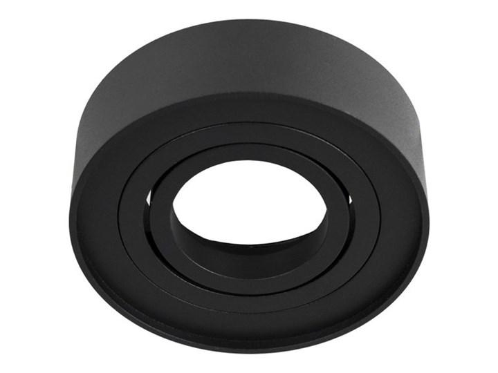 Punktowa oprawa sufitowa wpuszczana SKAND 1 MINI Black IP20 okrągła czarna EDO777127 EDO Oprawa wpuszczana Oprawa stropowa Okrągłe Kolor Czarny