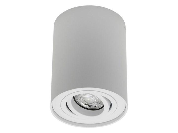 Punktowa oprawa sufitowa natynkowa do LED SKAND 1 White GU10 IP20 okrągła biała EDO777101 EDO