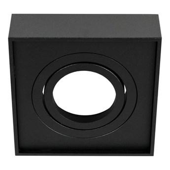 Punktowa oprawa sufitowa wpuszczana PALLAD 1 MINI Black IP20 kwadratowa czarna EDO777125 EDO