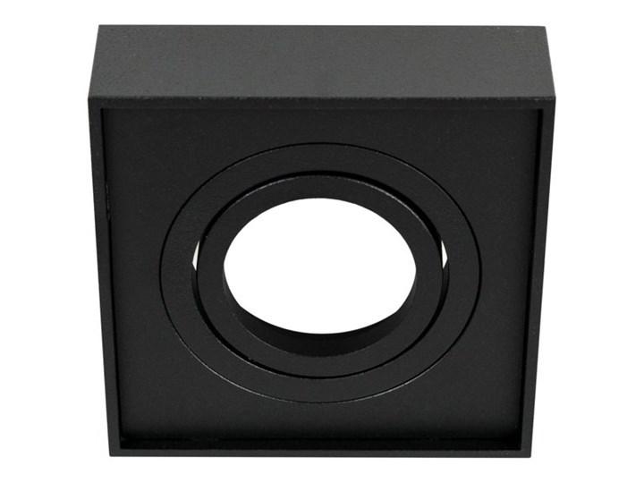 Punktowa oprawa sufitowa wpuszczana PALLAD 1 MINI Black IP20 kwadratowa czarna EDO777125 EDO Kwadratowe Kolor Czarny Oprawa stropowa Oprawa wpuszczana Kategoria Oprawy oświetleniowe