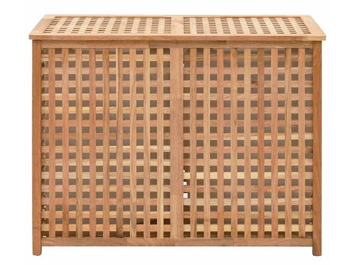 Podwójny kosz na pranie z drewna Kastilo 4X Kategoria Drewno Kolor Brązowy