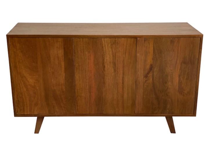 Komoda SELMA (Bursztyn) Pomieszczenie Sypialnia Szerokość 120 cm Drewno Głębokość 40 cm Wysokość 68 cm Z szafkami Pomieszczenie Salon