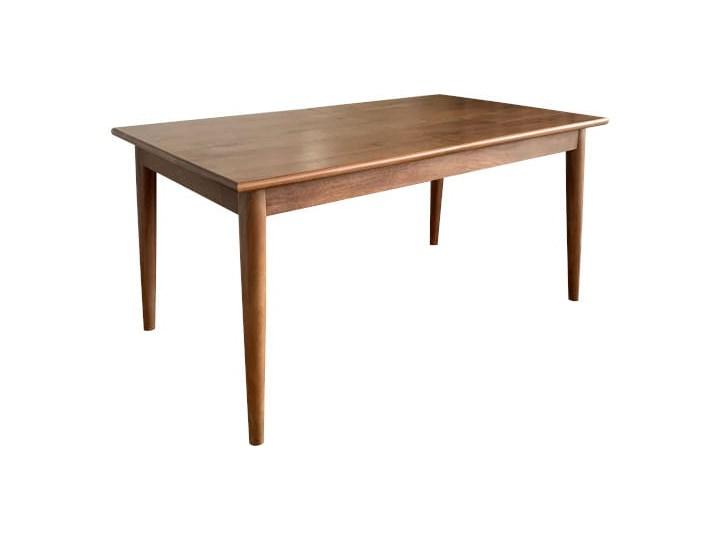 Stół rozkładany MARIAN - 120x80 cm (Karmel) Kamień Długość 120 cm  Rozkładanie Rozkładane Drewno Kolor Brązowy