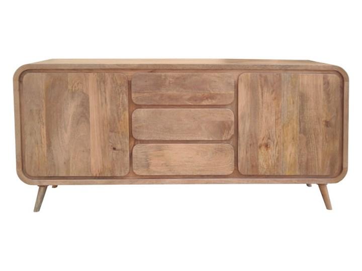 Kredens HENIO (Bursztyn) Drewno Z szafkami i szufladami Pomieszczenie Pokój nastolatka
