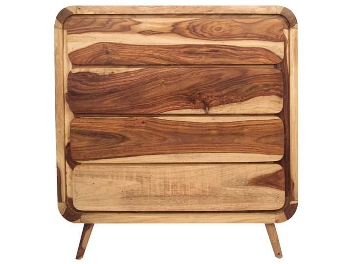Komoda HANKA (Karmel) Wysokość 90 cm Szerokość 85 cm Styl Industrialny Drewno Kategoria Komody