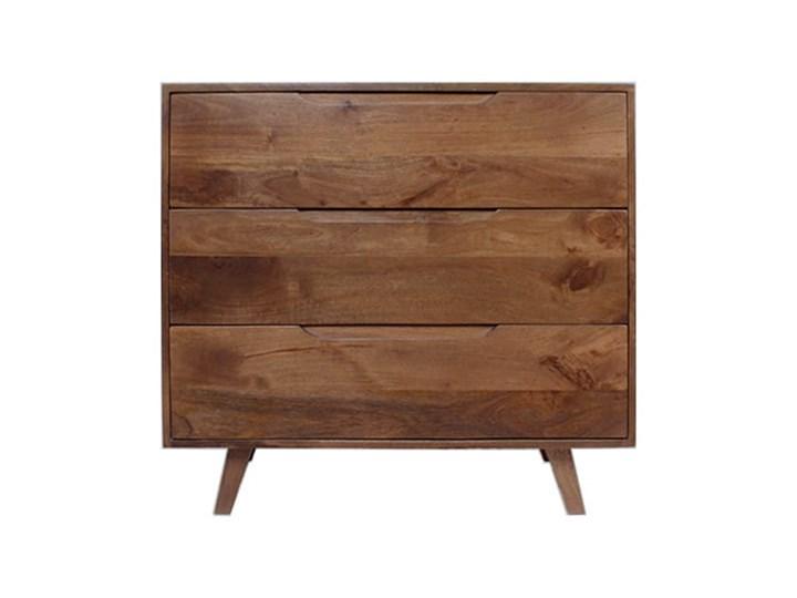 Komoda ESTER (Karmel) Drewno Wysokość 85 cm Głębokość 40 cm Szerokość 95 cm Styl Nowoczesny