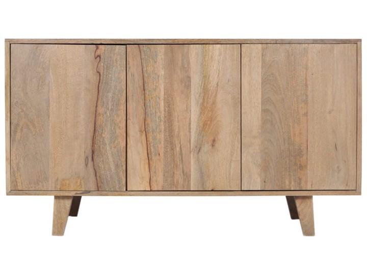Komoda SELMA (Bursztyn) Wysokość 68 cm Drewno Głębokość 40 cm Kategoria Komody Szerokość 120 cm Z szafkami Styl Industrialny