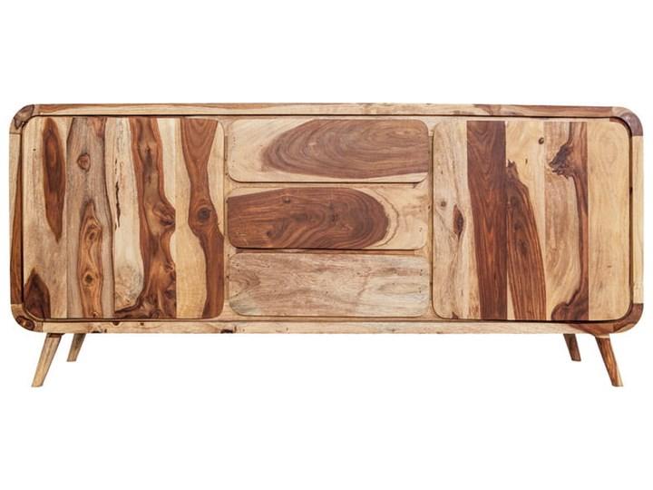 Kredens HENIO (Bursztyn) Z szafkami i szufladami Drewno Kategoria Komody