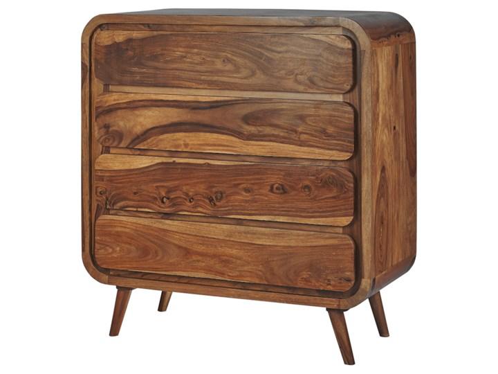 Komoda HANKA (Karmel) Szerokość 85 cm Drewno Wysokość 90 cm Styl Vintage
