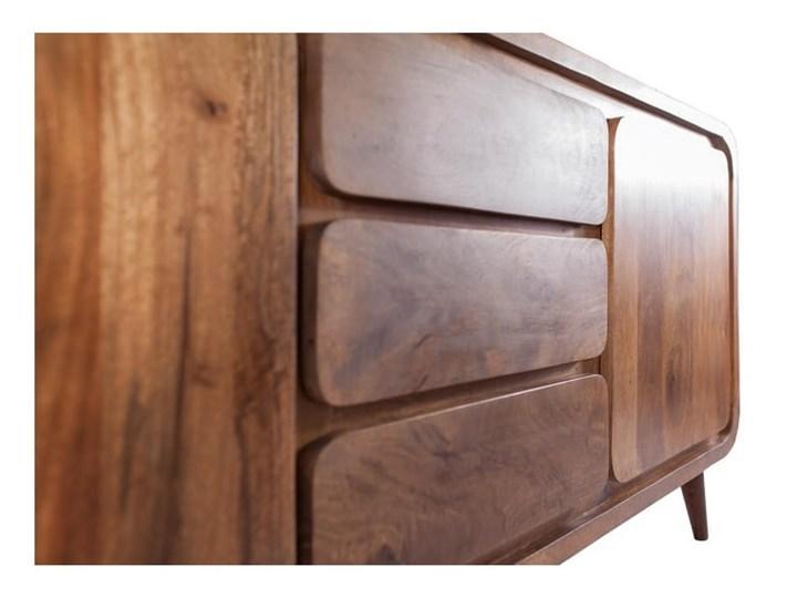 Kredens HENIO (Bursztyn) Drewno Z szafkami i szufladami Pomieszczenie Salon Pomieszczenie Sypialnia