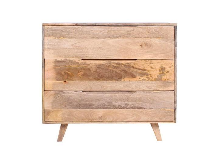 Komoda ESTER (Karmel) Wysokość 85 cm Szerokość 95 cm Drewno Głębokość 40 cm Styl Skandynawski
