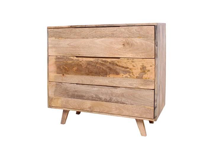 Komoda ESTER (Karmel) Szerokość 95 cm Głębokość 40 cm Wysokość 85 cm Drewno Styl Minimalistyczny