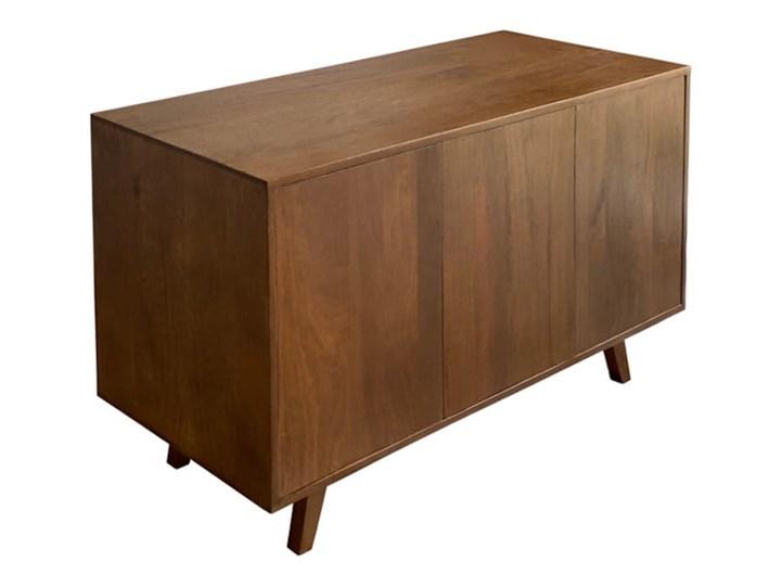 Komoda SELMA (Bursztyn) Głębokość 40 cm Szerokość 120 cm Drewno Z szafkami Wysokość 68 cm Styl Vintage