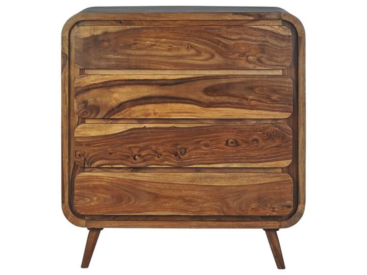 Komoda HANKA (Karmel) Wysokość 90 cm Drewno Styl Vintage Szerokość 85 cm Pomieszczenie Salon