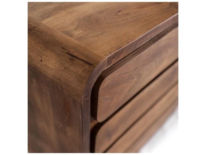 Komoda HANKA (Karmel) Wysokość 90 cm Szerokość 85 cm Drewno Pomieszczenie Salon Kategoria Komody