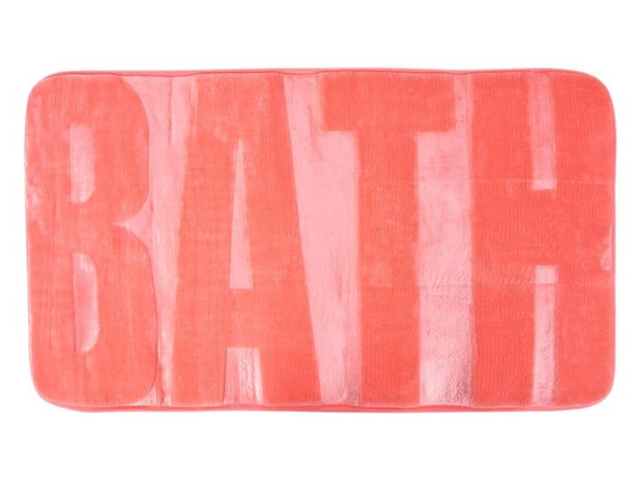 Dywanik łazienkowy morelowy, 73 x 45 cm