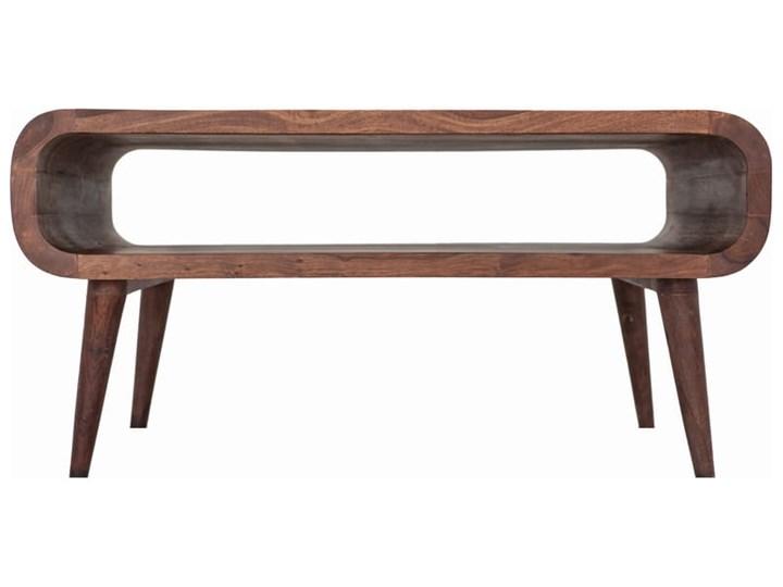 Stolik GUBBE - 80x60 cm (Karmel) Drewno Zestaw stolików Styl Nowoczesny
