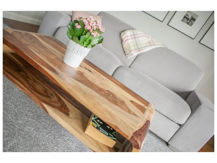 Stolik GUBBE - 80x60 cm (Karmel) Zestaw stolików Drewno Styl Nowoczesny Kolor Beżowy