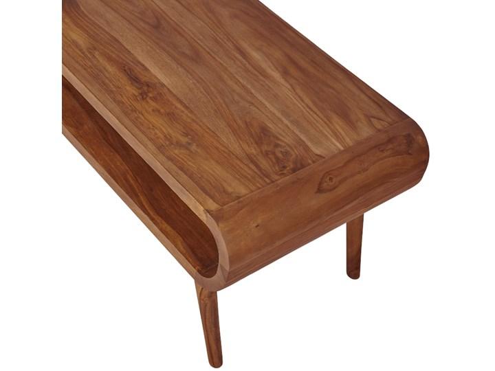 Stolik GUBBE - 80x60 cm (Karmel) Drewno Zestaw stolików Kolor Beżowy