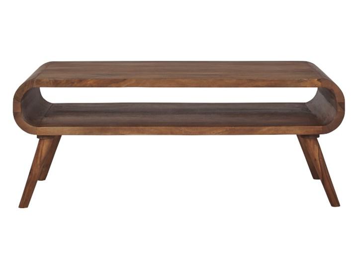 Stolik GUBBE - 80x60 cm (Karmel) Drewno Styl Nowoczesny Zestaw stolików Styl Vintage