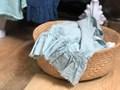 Lniany ręcznik z falbanką Sky Ręcznik kąpielowy Len Ręcznik do sauny Ręcznik plażowy 50x100 cm Bawełna Kategoria Ręczniki