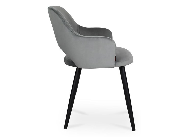 Bettso krzesło MARCY / ciemny szary / noga czarna / BL14 Wysokość 76 cm Metal Tkanina Wysokość 46 cm Szerokość 50 cm Głębokość 43 cm Głębokość 57 cm Pomieszczenie Jadalnia