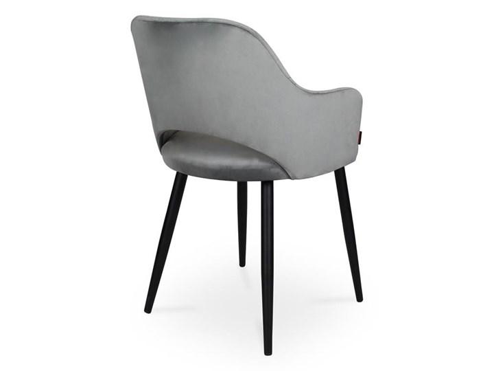 Bettso krzesło MARCY / ciemny szary / noga czarna / BL14 Głębokość 43 cm Szerokość 50 cm Kategoria Krzesła kuchenne Wysokość 76 cm Wysokość 46 cm Metal Tkanina Głębokość 57 cm Pomieszczenie Jadalnia